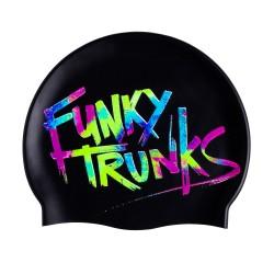 Czepek Pływacki Silikonowy Funky Trunks Trunk Tag