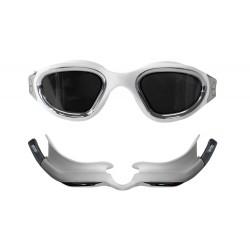 Okulary Pływackie Zone3 Vapour Białe