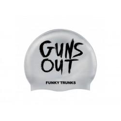 Czepek Pływacki Silikonowy Funky Trunks Guns Out