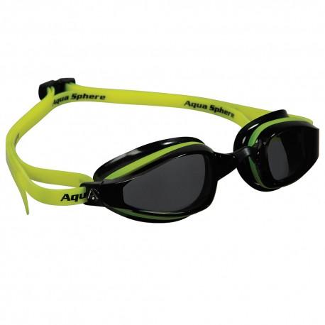 Okulary Pływackie Aqua Sphere K180 Czarno/Zielone