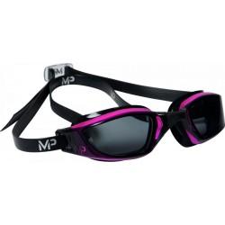 Okulary Pływackie Michael Phelps Xceed Czarno/Różowe