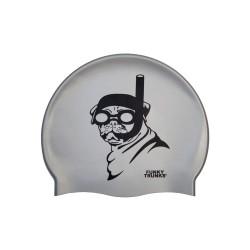 Czepek Pływacki Silikonowy Funky Trunks Snorkel Pug