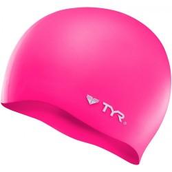 Czepek Pływacki Silikonowy TYR Wrinkle Free Różowy