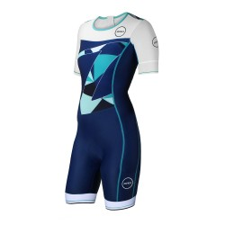STRÓJ TRIATHLONOWY ZONE3 LAVA SHORT SLEEVE 2018