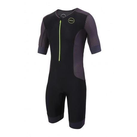 Strój Triathlonowy Zone3 Aquaflo+ Short Sleeve 2020 Męski