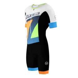 STRÓJ TRIATHLONOWY ZONE3 LAVA SHORT SLEEVE AERO SUIT LTD ED