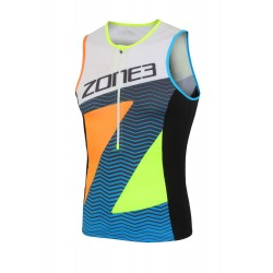 Koszulka Triathlonowa Zone3 Lava Limitowana Edycja Męska.