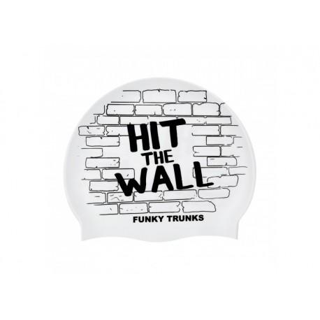 Czepek Pływacki silikonowy Funky Trunks Hit The wall