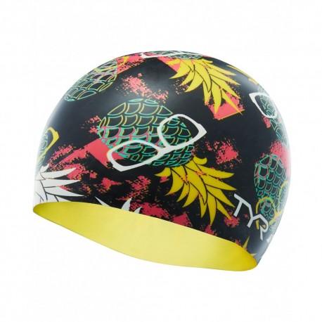 Czepek Pływacki Silikonowy TYR Pineapple Man Swim