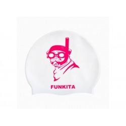 Czepek Pływacki Silikonowy Funkita Princess Pug
