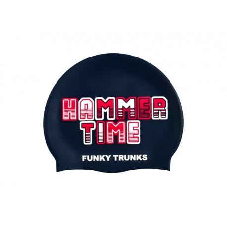 Czepek Pływacki Silikonowy Funky Trunks Hammer Time