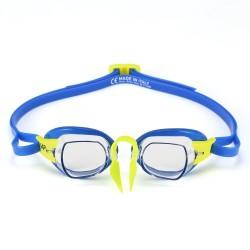 Okulary Pływackie Michael Phelps Chronos Niebiesko Żółte