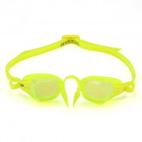 Okulary Pływackie Michael Phelps Chronos Żółte