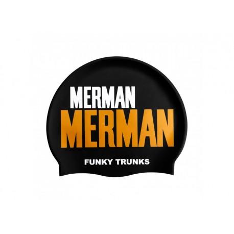Czepek Pływacki Silikonowy Funky Trunks Golden Merman