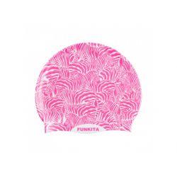 Czepek Pływacki Silikonowy Funkita Painted Pink