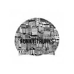 Czepek Pływacki Silikonowy Funky Trunks City Shadows