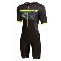 Strój Triathlonowy Zone3 Activate+ Short Sleeve Revolution Męski