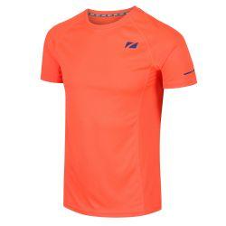 Koszulka Biegowa Zone3 Active Lite Męska Pomarańczowa