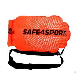 Dmuchana Bojka Asekuracyjna Safe4Sport PerfectSwimmer + Pomarańczowa