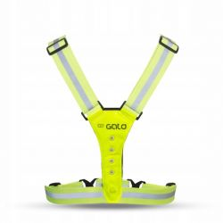 Szelki Odblaskowe Gato Safer Sport Żółte