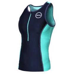 Koszulka Triathlonowa Zone3 Aquaflo+ Damska