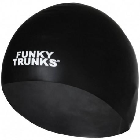 Czepek Pływacki Silikonowy Funky Trunks Still Black